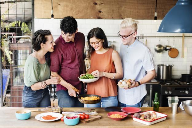 Firmenfeier in Berlin – Kochen mit Kollegen