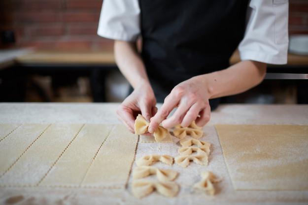Pasta-Kochkurs in Herten-Spaghetti mit Scampi