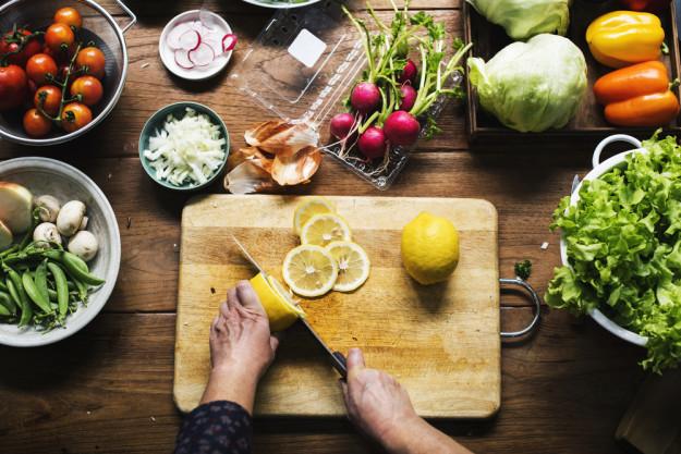 Veganer Kochkurs Essen - Kürbis
