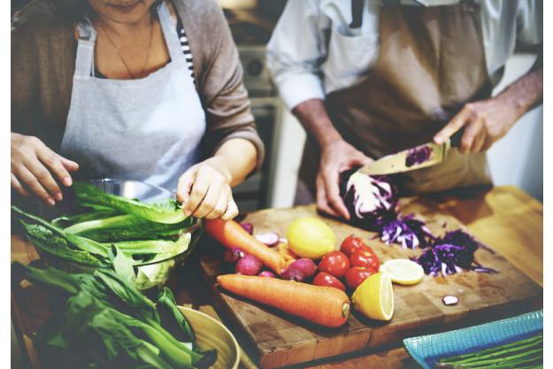 Vegetarischer Kochkurs Essen Gemüsezubereitung