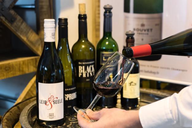 Basis-Weinseminar in Hannover - Rotweinprobe