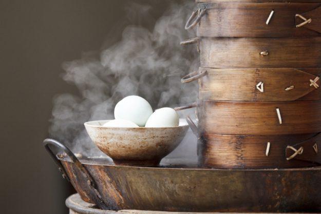 Asia-Kochkurs Köln – gedämpfte Eier
