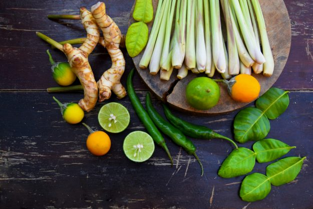 Asia-Kochkurs Fürth – frische Thai-Zutaten