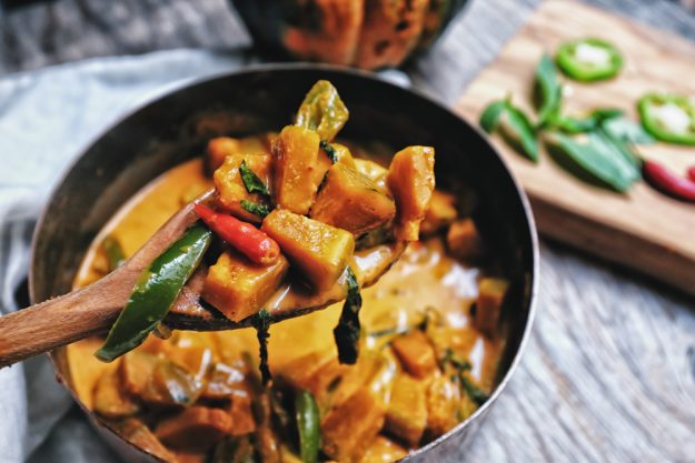 Asia-Kochkurs Fürth – rotes Thai-Curry