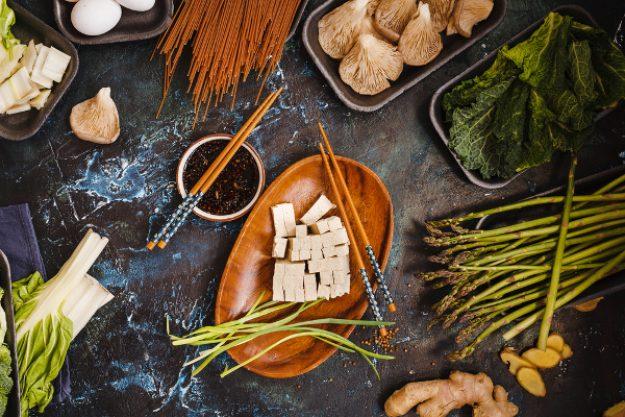 Asia-Kochkurs Hamburg – Tofu mit Sojasoße und Gemüse