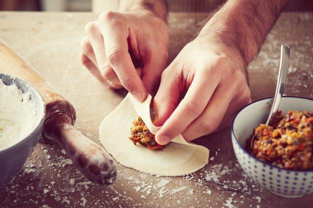 Asia-Kochkurs-Herten – Teigtaschen füllen