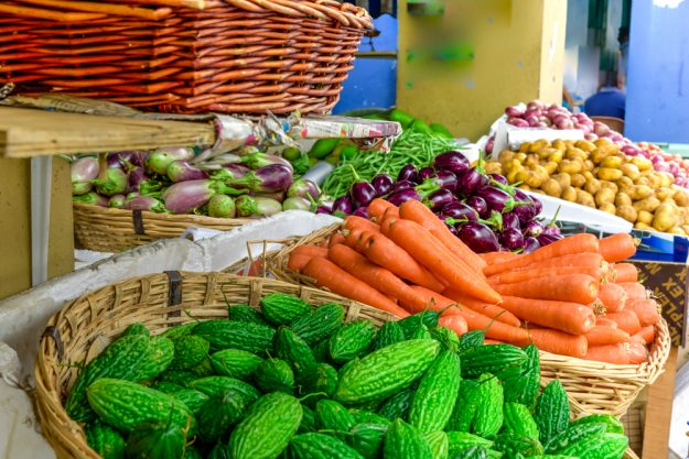 Asia-Kochkurs in Münster - Marktstand