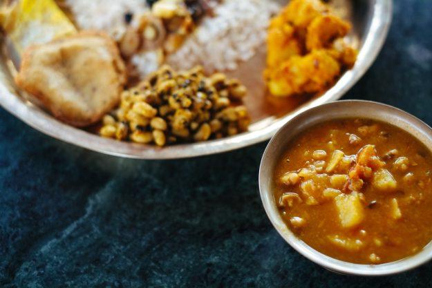 Asia-Kochkurs Reutlingen – Alu Tama Suppe Nepal