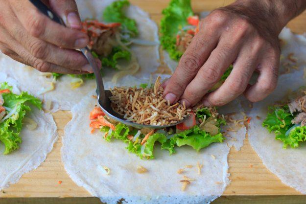 Asia-Kochkurs Reutlingen – Sommerrollen Vietnam