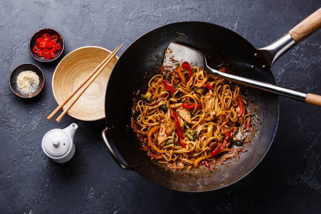 Asia-Kochkurs Hamburg – Nudeln aus dem Wok