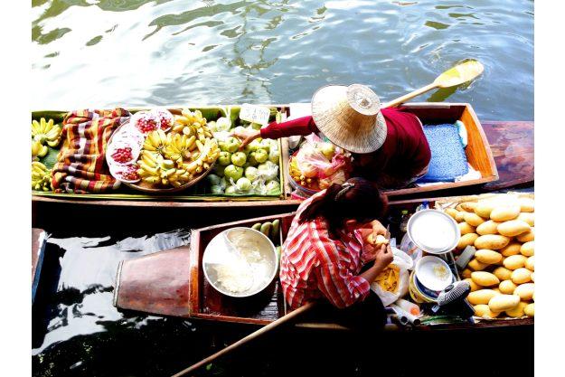 Asiatischer Kochkurs Stuttgart – schwimmender Markt