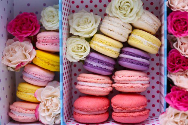 Backkurs München - Macarons in Schachtel