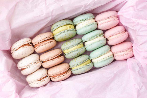 Backkurs München - Macarons in Seidenpapier