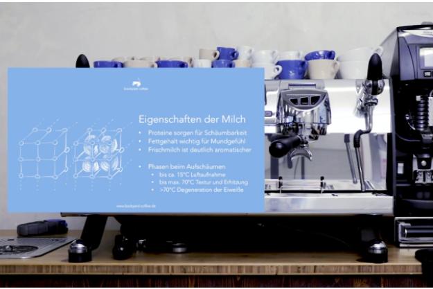 Barista-Kurs Frankfurt – Eigenschaften von Milch