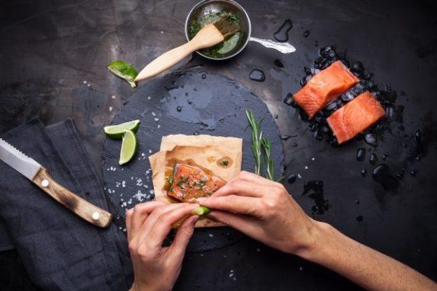 Basis Kochkurs –Lachs marinieren