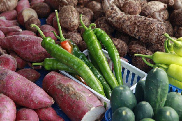 Betriebsausflug Essen - exotisches Gemüse