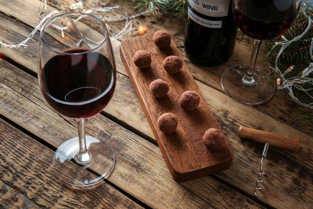 Betriebsausflug - Wein und Schokolade
