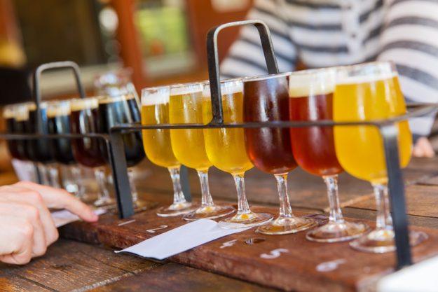 Bierprobe Berlin - Bierauswahl