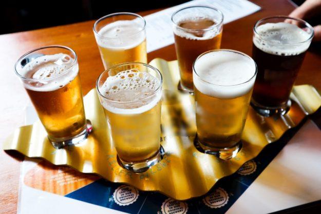Bierprobe Berlin –verschiedene Craftbbiere