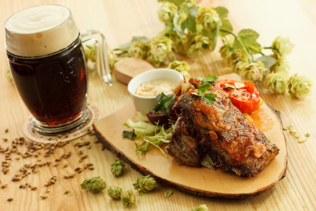 Bierprobe Heidelberg - Hopfen Dinner