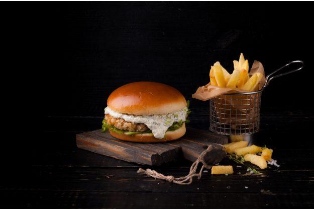 Burger-Kochkurs Frankfurt – Fisch-Burger