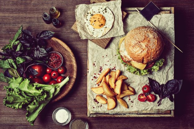 Burger-Kochkurs Stuttgart – Burger-Menü