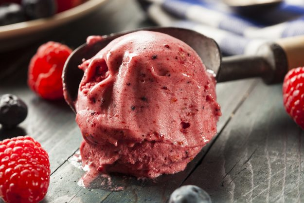 Firmenfeier in Berlin - Eis als Dessert