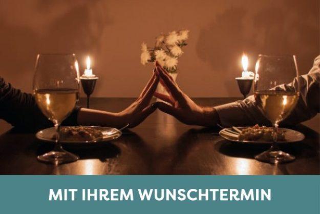 Candlelight-Dinner Stuttgart-Ehingen – romantisches Dinner