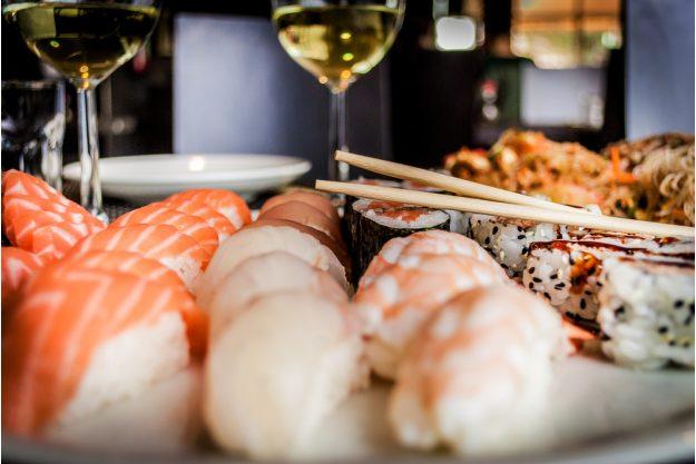 Champagner-Seminar in München – Champagner mit Sushi