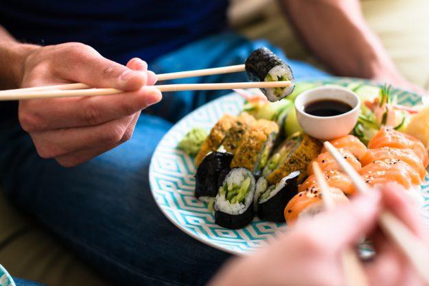Champagner-Seminar in München – Sushi passt zu Champagner