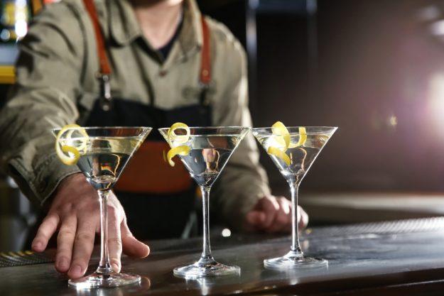 Cocktailkurs Köln – drei Martinis