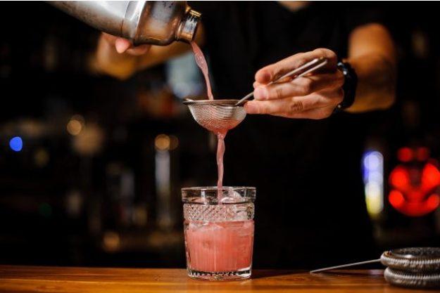 Cocktailkurs Osnabrück – Pinker Drink