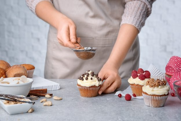 Cupcake-Backkurs Düsseldorf –Cupcake garnieren