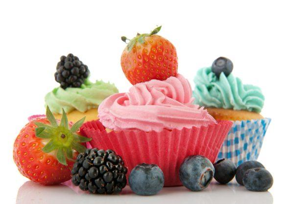 Cupcake Class Munich - Beeren Cupcakes