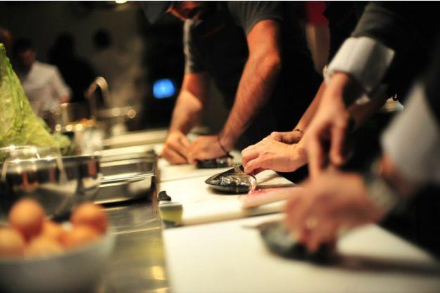 Firmenfeier Bonn - zusammen kochen
