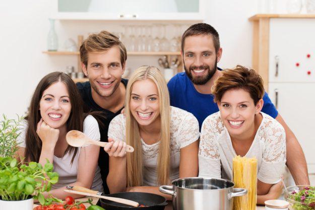 Firmenfeier Essen mit Küchenparty - Teamspirit