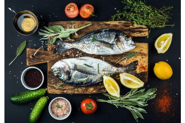 Fisch-Kochkurs München - Brasse mit Gemüse