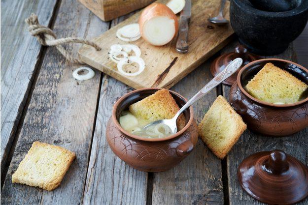 Frankreich Kochkurs Stuttgart – Zwiebelsuppe