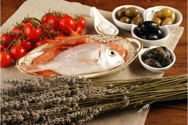 Französischer Kochkurs Frankfurt - Fisch mit Oliven