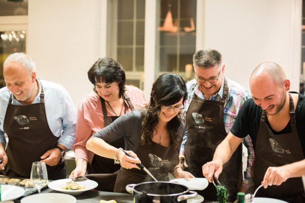Firmenfeier in Freiburg – zusammen kochen