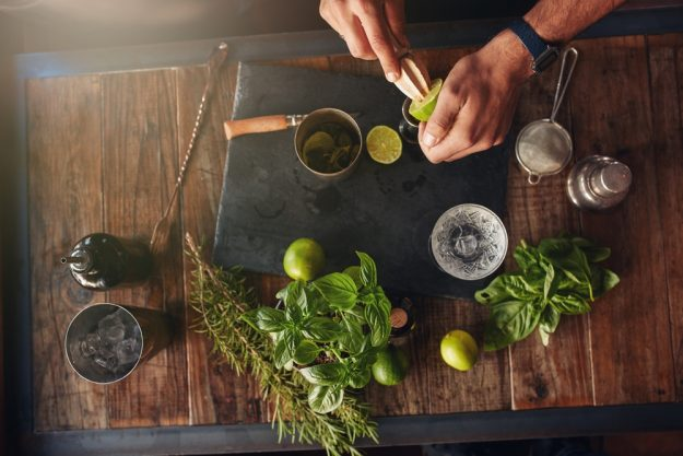 Gin-Tasting Berlin –Zubereitung Gin Tonic