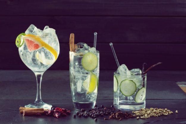 Gin-Tasting Düsseldorf – verschiedene Drinks mit Gin