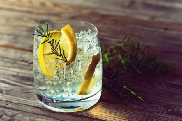 Gin-Tasting Frankfurt – Gin, Zitrone und Rosmarin im Glas