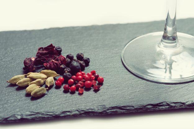 Gin-Tasting Frankfurt-Hofheim – Zutaten von Gins