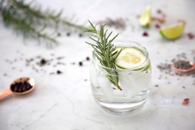 Gin-Tasting Mainz – Gin mit Rosmarin und Gurke