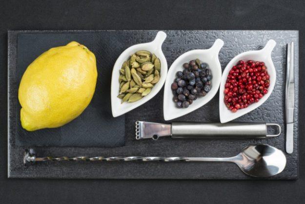 Gin-Tasting Stuttgart – Utensilien für Gin