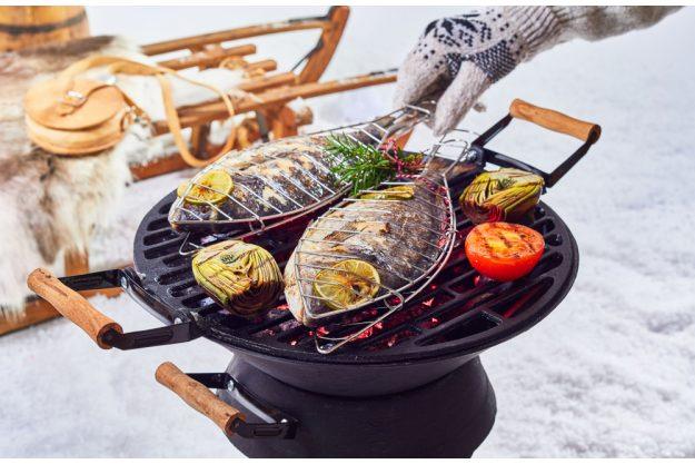 Grillkurs Wuppertal – Fisch grillen im Schnee