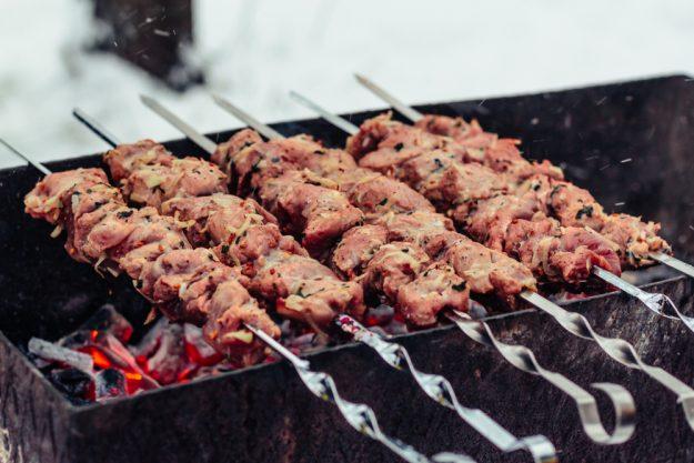 Grillkurs Wuppertal – Fleisch auf Spießen