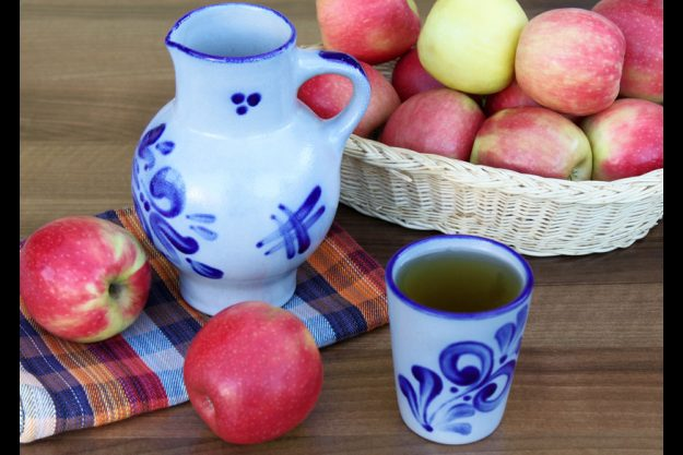 Incentive Essen regionale Küche - Apfelsaft