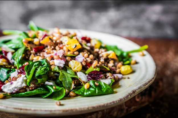 Incentive in Regensburg - exotischer Salat